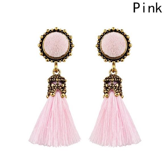 Vintage 1980/'s Pink Tassel Vintage Tassel Decorative Tassel Mauve Pink DIY Upholstery Tassel Jewelry Tassel Earring Tassels Tassle Crafts